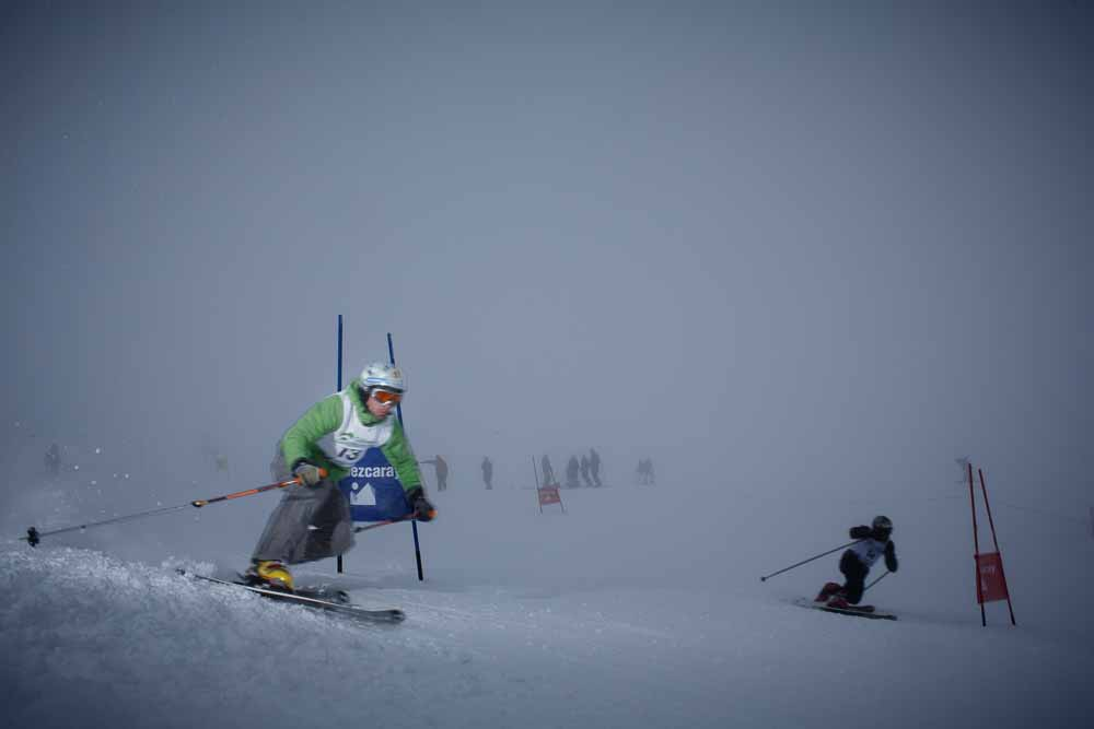 21/2/15 Valdezcaray Legend Telemark, Ezcaray, La Rioja, Spain. Photo © James Sturcke | www.sturcke.org