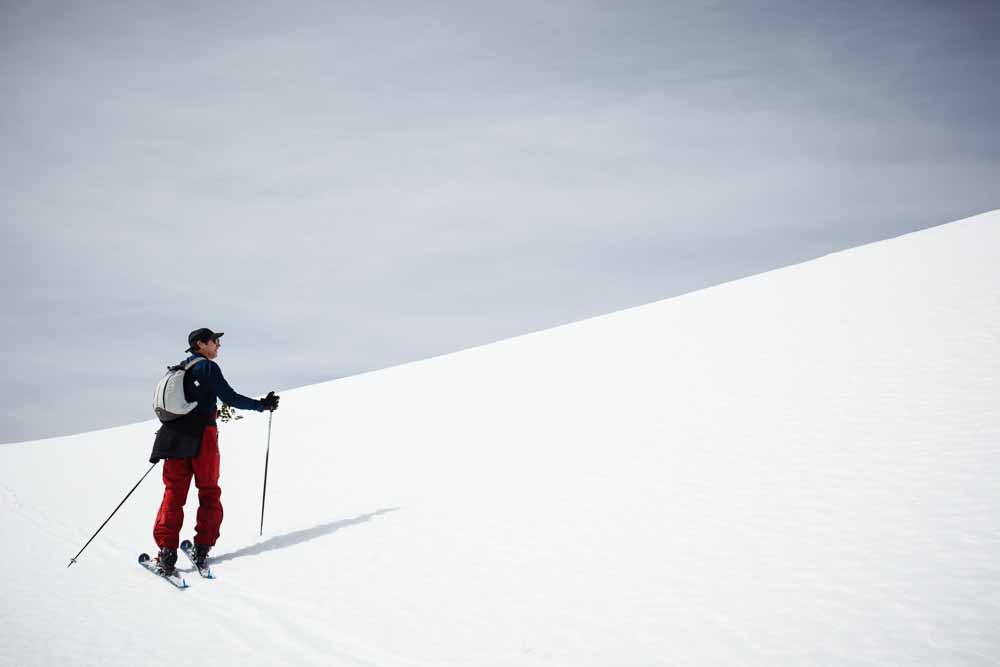 9 & 10 March 2015 Winter camping and telemark skiing with Chefe in Sierra de la Demanda, La Rioja, Spain. Photo © James Sturcke | www.sturcke.org