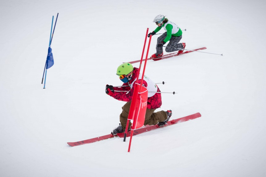 27 & 28 February 2016. Valdezcaray Legend Telemark Extravaganza. La Rioja, Spain. Photo by James Sturcke | www.sturcke.org