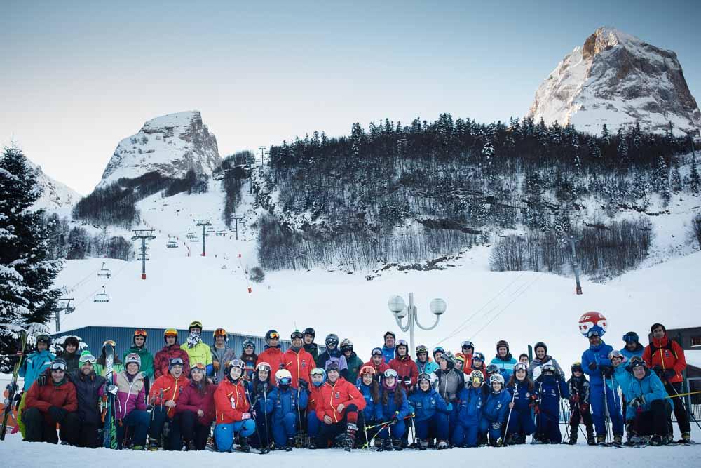 24 & 25 Enero 2015, Torocuervo, Lurk & Esz en Gourette, France. Foto de James Sturcke | www.sturcke.org